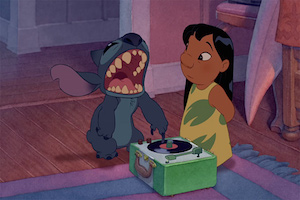 lilo-and-stitch-listening-to-records